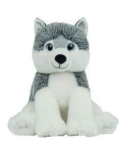 Bear Factory Cuddly Soft 16 inch Stuffed Gray Husky...We Stuff 'em...You Love 'em! from Bear Factory