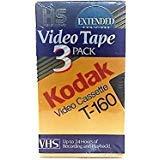 Kodak Video Cassette T-160 Pack of 3