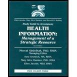 Health Information (Study Guide) (2nd, 01) by RRA, Ellen B Jacobs MEd - CPRS, Mary Alice Hanken PhD RHIA [Paperback (2001)]
