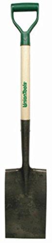 True Temper Wood Spade - Green Thumb 263125400 D-handle Garden Spade