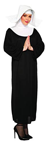 Forum Nun Better Costume, Black, One Size -