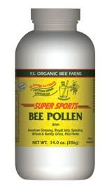 Super Sports Bee Pollen (Protein Drink Enhancer) - 14.2 oz. - Powder by YS Eco Bee Farms
