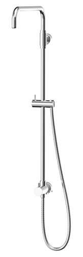 Symmons 35EX Dia Shower Riser with Diverter, Chrome
