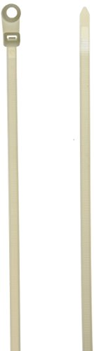 Monoprice 105790 14-Inch 120LBS Mountable head Cable Tie, 10