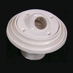 Pentair 08429-0000 Complete Insider Wall Inlet Fitting for Concrete Pools, 1-1/2 Inch Slip, White