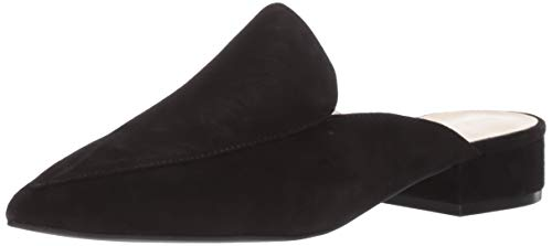 Cole Haan Women's Piper Mule Loafer, Black Suede, 9 B US