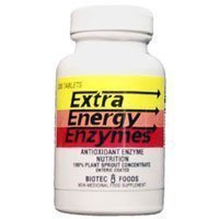 BioTec Foods - Extra Energy Enzymes, 200 tablets