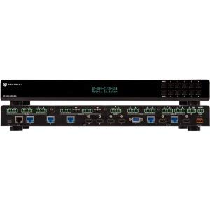 Atlona 4K/UHD 8×2 Multi-Format Matrix Switcher with Dual, HDBaseT and Mirrored HDMI Outputs AT-UHD-CLSO-824