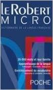 Livre gratuits Le Robert Micro : Dictionnaire d'apprentissage de la langue française Version brochée pdf epub