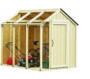 Gardening and Lawn Care-Storage Shed-Hopkins Peak Roof Shed Kit-Perfect Storage,Easy Assembly and Designed with a Sturdy Frame