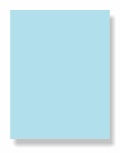 Blue 50 Sheet Pack - 67 Lb. Cover Card Stock, 8-1/2 x 11
