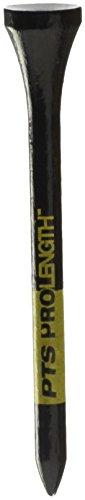 New Wood Golf Tees (Pride Professional Tee System 3-1/4-Inch Titanium Strength Wood Golf Tee, Black)