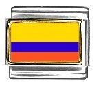 Columbia Flag Italian Charm...