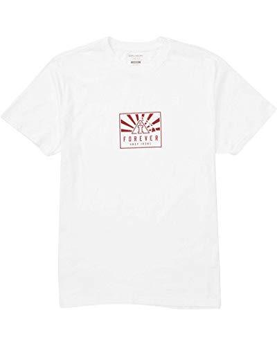 Billabong Men's Forever T-Shirt White Large
