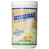 Price comparison product image Maxi Health, Naturemax, Creamy Vanilla, 1.06 Pound Tub Carrier to shipping international usps, ups, fedex, dhl, 14-28 Day By Dragon Shopping