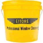 Ettore 82222 3.5 Gallon Yellow Window Washing Bucket
