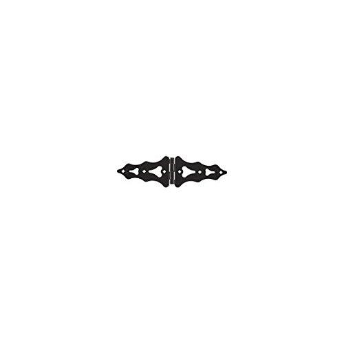 NATIONAL HARDWARE N109033 HINGE GATE BLACK 8IN Pack of 5