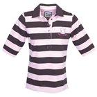 Toggi 'Jolly' gestreift RUGBY-Shirt Powder Pink XSmall