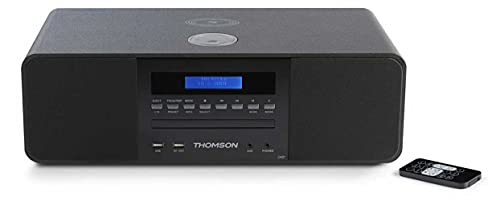 Thomson Compact systeem MIC200IDABBT met inductief laadstation – 50 Watt