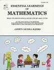 Essential Learnings of Mathematics, Janet Caudill Banks, 1886753040