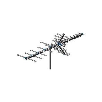AntennaCraft HBU33 85 Boom HBU Series Antenna for UHF and High-Band VHF - 70 to 60 Mile Range