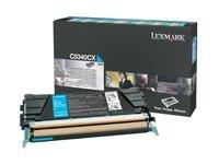 Price comparison product image Lexmark C5340CX OEM Toner - C534 Series Extra High Yield Cyan Return Program Toner 7000 Yield