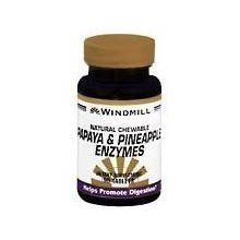 Windmill Papaya And Pineapple Enzymes Chewable Tablets - 90 Ea by WINDMILL