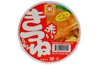 Akai Kitsune Udon (Instant Udon Noodle) - 3.39oz [Pack of 3]