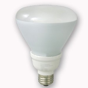 Qty 4 CFL Compact Fluorescent 23W R40 Light Bulbs 120W