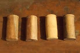 Tabla Gattas made of wood pack of 6 product design may vary
