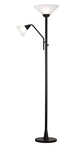 Kenroy Home 21002ORB Rush Torchiere, Oil Rubbed Bronze
