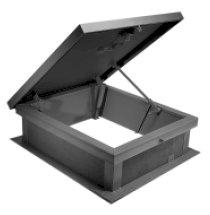 Acudor G3844 G-Series Roof Hatch 30 x 36, White by Acudor