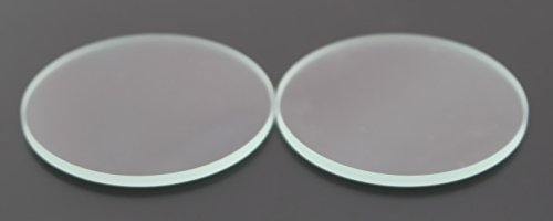 5PCS 52mm x 2mm Clear Glass Flat Lens for WF500/WF900/WF1000/WF1200/WF1000 Flashlights ()
