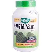 Natures Way Wild Yam Root Capsule, 425 Mg - 100 per pack - 6 packs per case.