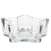 6 Pack - Star-Shaped Glass Bowls, 6