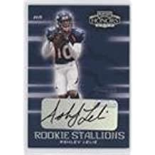 Ashley Lelie #3/100 (Football Card) 2002 Playoff Honors - Rookie Stallions - Autograph [Autographed] #RS-6