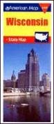 American Map Wisconsin State Map  Travelvision State Maps