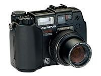 UPC 050332138223, Olympus CAMEDIA C-5050 Zoom - Digital camera - compact - 5.0 Mpix - optical zoom: 3 x - supported memory: CF, SM, xD, xD Type H, xD Type M - black