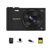 Sony Cyber-shot DSC-WX350 Digital Camera, 18.2MP, 20x Optica