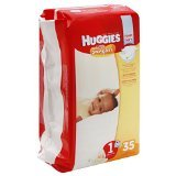 Winnie The Pooh Disney Diapers (Huggies Diapers, Size 1 (Up to 14 lb), Disney Baby Winnie the Pooh, Jumbo 40 diapers)