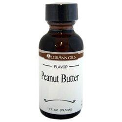 Lorann Hard Candy Flavoring Oil Peanut Butter Flavor 1 Ounce