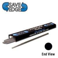 """Save Edge 13/64"""" (5.2Mm) Round Chainsaw Files (Dozen)"""