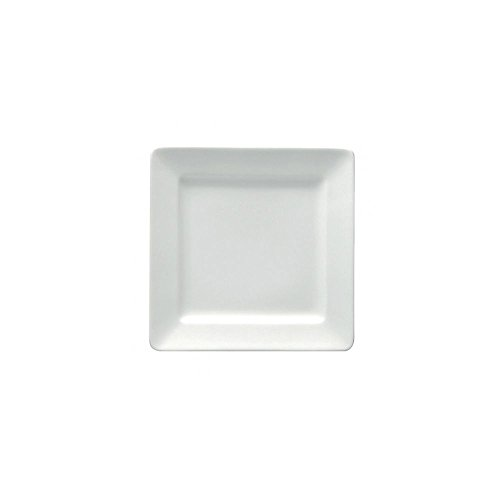 Porcelain Undecorated Square Plate - Buffalo F8010000163S Bright White Ware 12