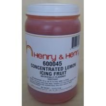 Henry and Henry Lemon Fruit Icing, 6 Pound -- 6 per case. by CSM Bakery (Image #1)