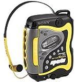 Sony Portable Sports AM/FM Cassette Player (WMFS220)