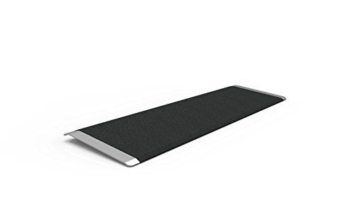 Plate Entry (EZ-ACCESS, Taep 10 Transitions Angled Entry Plate, 10 Inches, Transfer Over Doorways and Between Levels and Surfaces With More Security and Safety, Great for Wheelchairs, Walkers, Scooters)