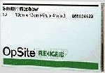 Smith & Nephew 66024632 Opsite Flexigrid Transparent Adhesive Film Dressing, 4-3/4'' Width, 10'' Length (Pack of 20)