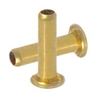 GS 2-7 Brass Eyelets 10,000 pcs by Stimpson Co., Inc.