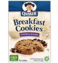 Quaker Oatmeal Raisin Cookies (Quaker Breakfast Cookies, Oatmeal Raisin cookies, 6 Count, 48 Gr)