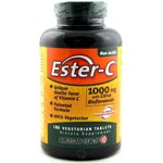 American Health Ester-C 1,000 mg with Citrus Bioflavonoids 180 vegetarian tablets 180 tablets (a) - 2pc by American Health